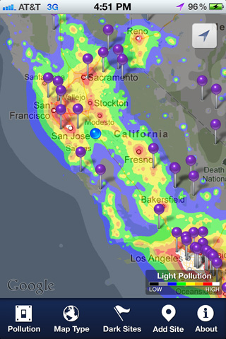 Dark Sky Finder | App for iPhone, iPad, & iPod Touch